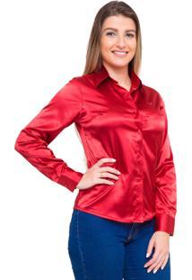 Camisa Pimenta Rosada Albertine Vermelha