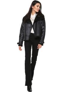 Jaqueta Calvin Klein Jeans Gamulan Preta
