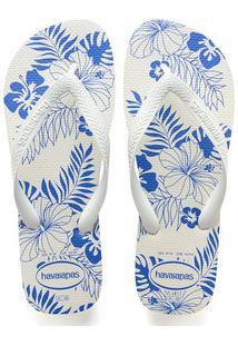 Chinelo Masculino Estampa Floral Havaianas 3771