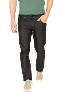 Calça Jeans Mr Kitsch Slim 9029 Pespontos Preta