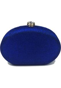 Bolsa La Borsa Clutch Azul
