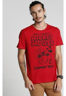 Camiseta Mickey Mouse Disney Clássicos