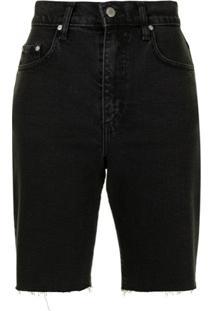 Nobody Denim Short Jeans Frankie - Azul