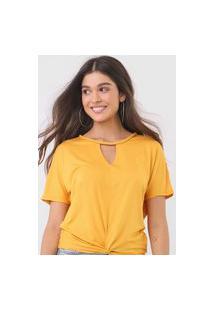 Blusa Endless Cordão Amarela