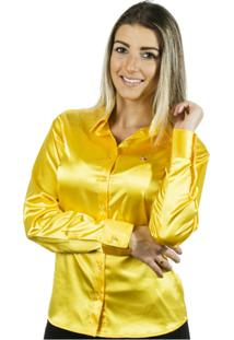 ... Camisa Pimenta Rosada Nanette - Feminino-Amarelo 8cea681936e71