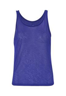 Camiseta Regata Oxer Leve - Feminina - Azul Escuro