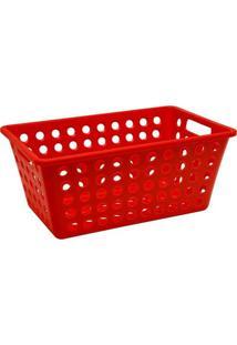 Cesta Organizadora Grande Coza Vermelha Ref: 10806/0053
