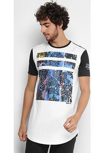 Camiseta Fatal Alongada Rapin Hood Grafite Masculina - Masculino