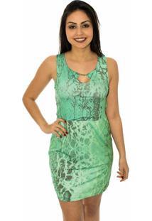 Vestido Capim Canela Acqua Verde