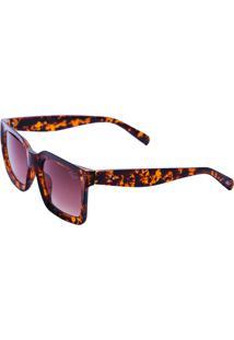 Óculos De Sol Tilit Feminino Retangular Retrô - Tarta