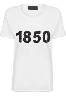 Camiseta Feminina Live - Off White