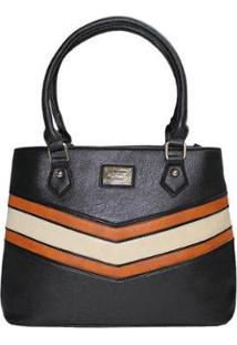 Bolsa Ombro It Bag Lasercut Le Postiche Feminina - Feminino-Estampado