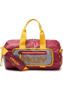 Mala 90'S Small Duffle Bag Oakley - Masculino-Vermelho