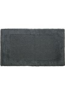 Tapete Sublime- Cinza Escuro- 80X50Cm- Kapazikapazi