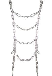 Comme Des Garçons Body Chain - Metálico