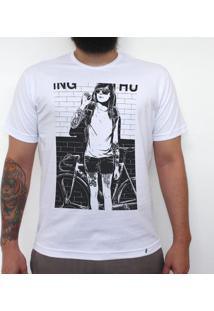 Anne Smoking - Camiseta Clássica Masculina