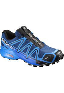 Tênis Salomon Masculino Speedcross 4 Cs 45 Azul/Preto