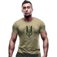 0cfe340d07 Camiseta Team Six Militar Britânica Sas Special Air Service Bege