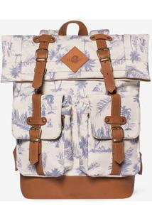 Mochila Hawaii 300351-Branco-Único