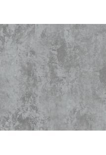 Papel De Parede Cimento Queimado Cinza Escuro (1000X52)