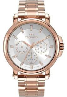 Relógio Technos Trend 6P29Akw/4K Feminino - Feminino-Rosa