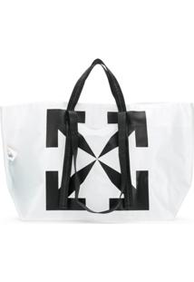 Off-White Arrows Tote Bag - Branco