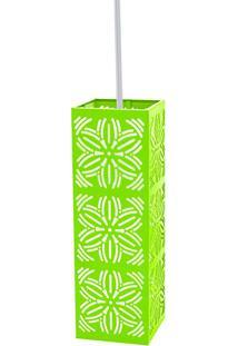 Pendente Renda E-27 101 - Taschibra - Verde Limão