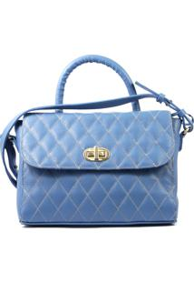 Bolsa Felícia 777 Azul Jeans