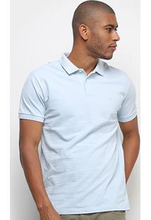 Camisa Polo Forum Manga Curta Masculina - Masculino-Azul Claro