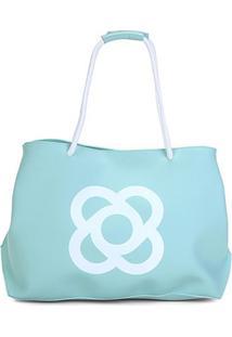 Bolsa Petite Jolie Shopper Claire Feminina - Feminino-Verde Água