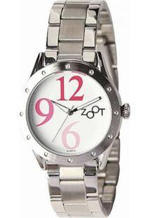 Relógio Feminino Zoot Casual Big Numbers Zw10095-F - Feminino