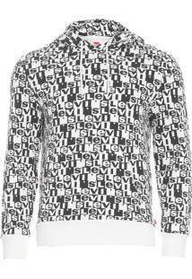 Blusa Masculina Moletom Graphic - Preto