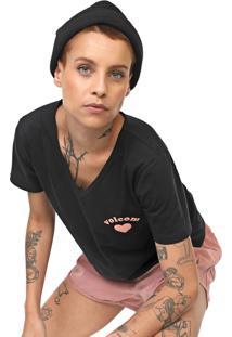 Camiseta Volcom Lil Preta