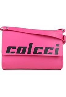 Bolsa Colcci Mini Bag Firenze Feminina - Feminino-Rosa+Pink