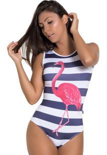 Body Kaisan Flamingo Branco