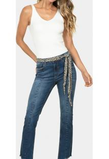 Calça Skinny Bali Cinto Elastic Jeans - Lez A Lez