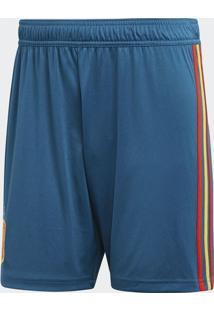 Bermuda Espanha - Azul & Vermelha - Adidasadidas