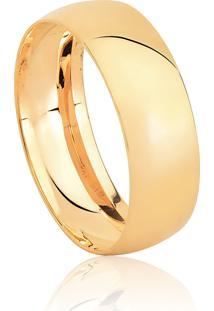 Aliança De Casamento Em Ouro 18K 6,9Mm