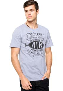 Camiseta Sommer Born Cinza