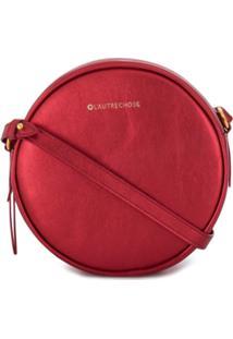 926f80f25 ... L'Autre Chose Bolsa Tiracolo Redonda - Vermelho