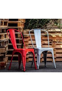 Cadeira Francesinha Vermelho