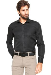 Camisa Victory Eagle Slim Fit Preta