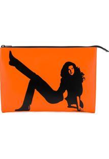 Calvin Klein Jeans Est. 1978 Bolsa Clutch 'Icon' - Laranja