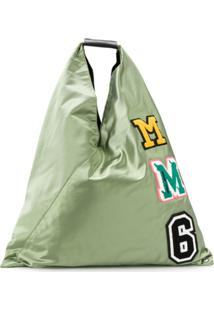 Mm6 Maison Margiela Bolsa Tote Japanese - Verde