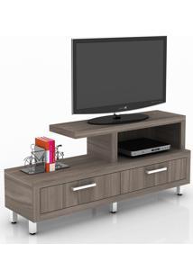 Rack Para Tv 2 Gavetas R1454 Carvalho - Tecno Mobili