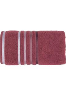 Toalha De Banho Normal Karsten Softmax Lumina Rosa Malagaroxa