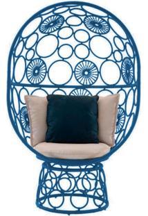 Cadeira De Corda Pina Azul - Incolor - Dafiti