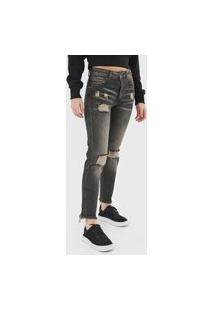 Calça Jeans John John Slim Lewiston Preta