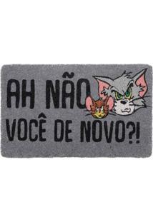 Capacho Fibra De Coco Tom & Jerry Angry