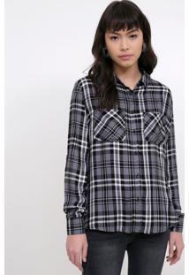 5bbc5b4ff9 Camiseta Viscose Xadrez feminina